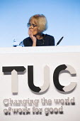 Sue Ferns Prospect speaking TUC conference 2018 Manchester - John Harris - 11-09-2018