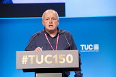 Tony Kearns CWU speaking TUC conference 2018 Manchester - John Harris - 2010s,2018,conference,conferences,CWU,Manchester,SPEAKER,SPEAKERS,speaking,SPEECH,trade union,trade unions,trades union,trades unions,TUC,TUC congress