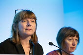 Sally Hunt, TUC conference 2018 Manchester - John Harris - 11-09-2018