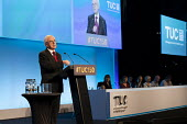 John McDonnell speaking TUC conference 2018 Manchester - John Harris - 2010s,2018,conference,conferences,Labour Party,Manchester,MP,MPs,politician,politicians,SPEAKER,SPEAKERS,speaking,SPEECH,trade union,trade unions,trades union,trades unions,TUC,TUC congress