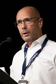Andy Noble FBU speaking TUC conference 2018 Manchester - John Harris - 2010s,2018,conference,conferences,FBU,Manchester,SPEAKER,SPEAKERS,speaking,SPEECH,trade union,trade unions,trades union,trades unions,TUC,TUC congress