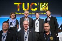 FBU delegation TUC conference 2018 Manchester - John Harris - 11-09-2018