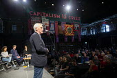 John McDonnell speaking, The World Transformed, Labour Party Conference, Liverpool - John Harris - 2010s,2018,activist,activists,CAMPAIGN,campaigner,campaigners,CAMPAIGNING,CAMPAIGNS,Conference,conferences,John McDonnell,Left,left wing,Leftwing,Liverpool,male,man,men,momentum,MP,MPs,Party,people,pe