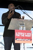 David Lammy MP speaking People's Vote March for the Many, Labour Party Conference, Liverpool, 2018 - Jess Hurd - 23-09-2018