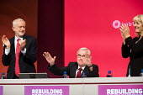 John McDonnell and Jeremy Corbyn Labour Party Conference, Liverpool, 2018 - Jess Hurd - 24-09-2018