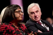 Diane Abbott MP and John Mc Donnell Labour Party Conference, Liverpool, 2018 - Jess Hurd - 2010s,2018,BAME,BAMEs,Black,BME,bmes,Conference,conferences,Diane Abbott,diversity,ethnic,ethnicity,FEMALE,John Mc Donnell,Labour Party Conference,Liverpool,minorities,minority,Party,people,person,per