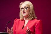 Rebecca Long-Bailey MP speaking Labour Party Conference, Liverpool, 2018 - Jess Hurd - 25-09-2018
