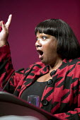 Diane Abbott MP speaking Labour Party Conference, Liverpool, 2018 - Jess Hurd - 2010s,2018,BAME,BAMEs,Black,BME,bmes,Conference,conferences,Diane Abbott,diversity,ethnic,ethnicity,FEMALE,Labour Party Conference,Liverpool,minorities,minority,Party,people,person,persons,poc,POL,pol