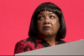 Diane Abbott MP Labour Party Conference, Liverpool, 2018 - Jess Hurd - 2010s,2018,BAME,BAMEs,Black,BME,bmes,Conference,conferences,Diane Abbott,diversity,ethnic,ethnicity,FEMALE,Labour Party Conference,Liverpool,minorities,minority,MP,Party,people,person,persons,poc,POL,