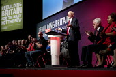 Jeremy Corbyn speaking Labour Party Conference, Liverpool, 2018 - Jess Hurd - 2010s,2018,applauding,applause,clap,clapping,Conference,conferences,Jeremy Corbyn,John McDonnell,Labour Party Conference,Liverpool,MP,MPs,Party,POL,political,politician,politicians,Politics,SPEAKER,SP