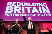 Jeremy Corbyn speaking Labour Party Conference, Liverpool, 2018 - Jess Hurd - 2010s,2018,applauding,applause,clap,clapping,Conference,conferences,Diane Abbott,Jeremy Corbyn,Labour Party Conference,Liverpool,MP,MPs,Party,POL,political,politician,politicians,Politics,SPEAKER,SPEA