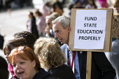Headteachers protest for more school funding, Westminster, London - Jess Hurd - 2010s,2018,activist,activists,Austerity Cuts,CAMPAIGN,campaigner,campaigners,CAMPAIGNING,CAMPAIGNS,DEMONSTRATING,demonstration,DEMONSTRATIONS,Downing Street,education,funding,Head Teacher,Heads,headte