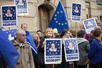 Pro EU protesters demonstrating, Conservative Party Conference, Birmingham, 2018 - Jess Hurd - 2010s,2018,activist,activists,Birmingham,Brexit,CAMPAIGNING,CAMPAIGNS,Conference,conferences,CONSERVATIVE,Conservative Party,Conservative Party Conference,conservatives,demonstrating,demonstration,EU,
