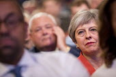 Theresa May Conservative Party Conference, Birmingham, 2018 - Jess Hurd - 2010s,2018,Birmingham,Conference,conferences,CONSERVATIVE,Conservative Party,Conservative Party Conference,conservatives,FEMALE,Party,people,person,persons,POL,political,POLITICIAN,POLITICIANS,Politic