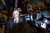 Jacob Rees-Mogg speaking to TV journalists, Making a Sucess of Brexit fringe meeting, Conservative Party Conference Birmingham 2018 - John Harris - 2010s,2018,Birmingham,Brexit,Conference,conferences,CONSERVATIVE,Conservative Party,Conservative Party Conference,conservatives,Making,meeting,MEETINGS,MP,MPs,Party,POL,political,politician,politician