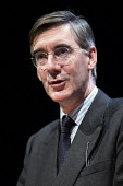 Jacob Rees-Mogg speaking Making a Sucess of Brexit fringe meeting, Conservative Party Conference Birmingham 2018 - John Harris - 2010s,2018,Birmingham,Brexit,Conference,conferences,CONSERVATIVE,Conservative Party,Conservative Party Conference,conservatives,Making,meeting,MEETINGS,MP,MPs,Party,POL,political,politician,politician