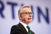 Michael Gove speaking Conservative Party Conference, Birmingham, 2018 - Jess Hurd - 01-10-2018