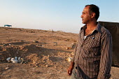 Bedouin farmer Aziz al-Touri, trying to save his village, Al-Araqib, Negev Desert, Israel, which has been demolished over 110 times since 2010 by Israeli authorities seeking to evict the Bedouins from... - Joanne O'Brien - 10-02-2016