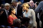 Laura Kuenssberg interviewing Priti Patel Conservative Party Conference, Birmingham, 2018 - Jess Hurd - 02-10-2018