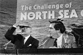 Jim Callaghan, Dennis Healy North Sea Oil press conference, London 1978 The Challenge of North Sea Oil - Peter Arkell - 1970s,1978,conference,conferences,Dennis Healy,Jim Callaghan,Labour Party,London,male,man,men,MP,MPs,nationalisation,nationalised,North Sea Oil,OCEAN,oil,Oil Industry,oilfield,people,person,persons,PO