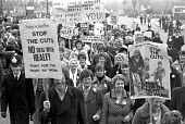 NALGO Women protest against cuts, London 1976 - NLA - 17-11-1976