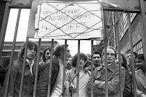 Occupation of Ford Dagenham plant in protest against redundancies 1977 London - NLA - 17-06-1977