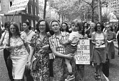 Argentinian women demanding to know the fate of The Disappeared, London 1978: 15,000 people disappeared, presumed kidnapped or seized during the dictatorship of the Military Junta - NLA - 01-06-1978