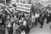 Protest against racism after Altab Ali, a Bangladeshi textile worker was the victim of a racist murder in East London, 1978 - NLA - 1970s,1978,activist,activists,against,Altab Ali,Asian,Asians,BAME,BAMEs,Bangla Desh,Bangladeshi,Bangladeshis,banner,banners,bigotry,Black,BME,bmes,CAMPAIGNING,CAMPAIGNS,DEMONSTRATING,Demonstration,DIS