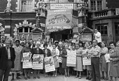 Strike protest at closure of Bethnal Green Hospital, London 1978 - NLA - 03-05-1978