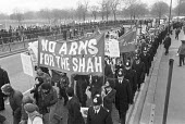 Protest against Government selling arms the Shah of Iran London 1978 - NLA - 17-12-1978