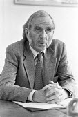 Professor Hugh Clegg, academic and one of the founders of Warwick Business School, 1980. He presided over the Standing Commission on Pay Comparability under the govenment of James Callaghan and wrote... - NLA - 1980,1980s,Business,Hugh Clegg,Industrial Relations,Industrial Relations Research Unit,pay comparability,prices and incomes policy,School,SCHOOLS,Warwick University