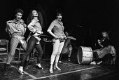The Sadista Sisters, The Half Moon Theatre, London 1981 - NLA - 1980s,1981,ACE,Arts,Culture,equal rights,equality,FEMALE,feminism,feminist,feminists,Half Moon Theatre,London,Moon,people,person,persons,play,playing,plays,political,Sadista Sisters,satire,satirist,sa