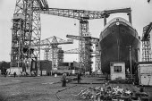 Work in, Upper Clyde Shipyards, Glasgow 1971 - Martin Mayer - 23-06-1971