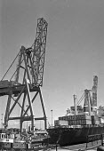 Containerisation comes to Port of Liverpool 1970. One of the first container ships being loaded - Martin Mayer - 16-07-1970