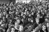Mass meeting, strike and occupation of Coles Cranes, Sunderland 1973 against closure - Martin Mayer - 20-02-1973