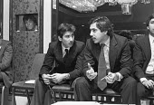Two sons of Zulfikar Ali Bhutto, Mir Murtaza Bhutto and Shahnawaz Bhutto, tribunal into the execution of Zulfikar Ali Bhutto, prime minister of Pakistan London 1979 He was overthrown by his army chief... - Ray Rising - 1970s,1979,Bhutto,capital punishment,CLJ,communicating,communication,conversation,conversations,dialogue,discourse,discuss,discusses,discussing,discussion,execution,executions,London,male,man,men,mili