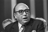 Roy Jenkins speaking 1973 Labour Party Conference - Peter Arkell - 1970s,1973,conference,conferences,deputy leader,Labour Party,male,man,men,MP,MPs,Party,people,person,persons,POL,political,politician,politicians,Politics,Roy Jenkins,SPEAKER,SPEAKERS,speaking,SPEECH