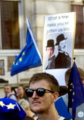 Peoples Vote March for the Future. London protest demanding a second referendum on the Brexit deal - Stefano Cagnoni - 20-10-2018