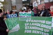 Residents of Eros House tower block protest about housing conditions, inadequate heating, disrepair, damp and anti social behaviour, supported by the Renters Union, Catford, Lewisham Council, South Lo... - Jess Hurd - 2010s,2018,activist,activists,against,anti social behaviour,BAME,BAMEs,banner,banners,Black,block,blocks,BME,bmes,brutalist,CAMPAIGNING,CAMPAIGNS,Catford,cold,communities,community,conditions,Council,