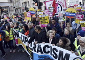 Stand Up To Racism protest demonstration London. - Stefano Cagnoni - 17-11-2018