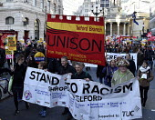 Stand Up To Racism protest London Unison Telford - Stefano Cagnoni - 17-11-2018