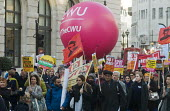 Stand Up To Racism protest London CWU members - Stefano Cagnoni - 17-11-2018