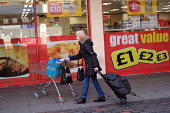Shopping at Iceland, Great Value, Catford Shopping Centre, Lewisham, South London. - Jess Hurd - 2010s,2018,buying,Catford,commodities,commodity,consumer,consumers,customer,customers,excluded,exclusion,Great Value,HARDSHIP,Iceland,impoverished,impoverishment,INEQUALITY,Lewisham,Marginalised,peopl