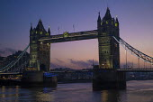 Sunrise, Tower Bridge, London - Jess Hurd - 2010s,2018,architecture,bridge,bridges,building,buildings,cities,City,dawn,dawning,day,daybreak,first,light,London,morning,red,River,River Thames,Sunrise,Thames,Tower Bridge,Urban,WEA Weather