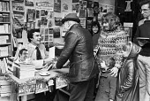 Trevor Brooking book signing the West Ham United Official Annual 1981, Paperbacks Centre, West Ham, London - Martin Mayer - 22-12-1980