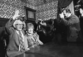 Michael Foot elected the new leader of the Labour Party, with his wife Jill Craigie, Parliament 1980 - Martin Mayer - 10-11-1980