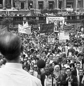 Rally against the Vietnam War, Trafalgar Square London 1966 - NLA - 03-08-1966