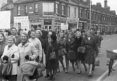 Plessey, Swindon, women workers protest over a wages dispute 1968 - NLA - 02-03-1968