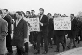 ETU Electricians protest against a pay settlement 1967 recommended by the Joint Industrial Board and to oppose the ETU leadership accepting it in principle - NLA - 10-11-1967