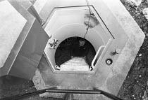Domestic Nuclear bunker in the garden of Mr Lionel Millett, Totteridge, London 1980 - NLA - 21-10-1980